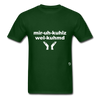 Miracles Welcomed T-Shirt - forest green