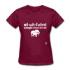 Elephant Sanctuary T-Shirt - burgundy