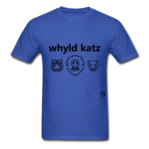 Wild Cats T-Shirt - royal blue