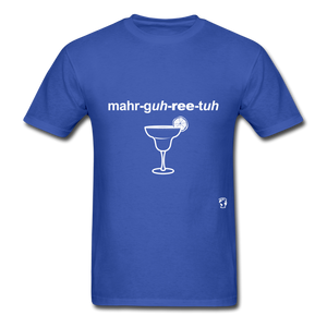 Margarita T-Shirt - royal blue