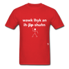 Walk Like an Egyptian T-Shirt - red