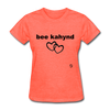 Be Kind T-Shirt - heather coral