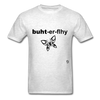 Butterfly T-shirt - light heather grey