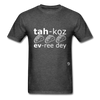 Tacos Every Day T-Shirt - heather black