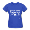 Protect Wildlife T-Shirt - royal blue