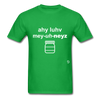 I Love Mayonnaise T-Shirt - bright green