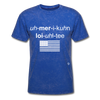 American Loyalty T-Shirt - mineral royal