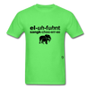Elephant Sanctuary T-Shirt - kiwi