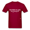 Hilarious T-Shirt - dark red