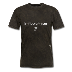 Influencer T-Shirt - mineral black