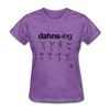 Dancing T-Shirt - purple heather