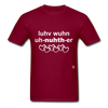 Love One Another T-Shirt - burgundy