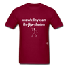 Walk Like an Egyptian T-Shirt - burgundy