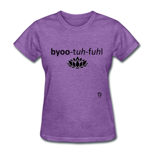 Beautiful T-Shirt - purple heather
