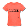 Elephants T-Shirt - heather coral