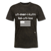 American Loyalty T-Shirt - mineral black