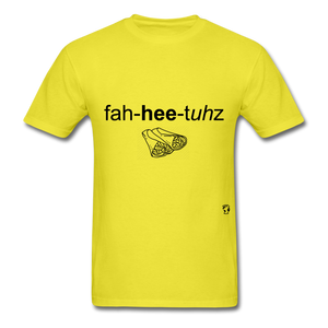 Fajitas T-Shirt - yellow