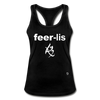 Fearless Racerback Tank Top - black
