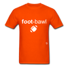 Football T-Shirt - orange