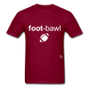 Football T-Shirt - burgundy