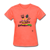 I Love Gardening T-Shirt - heather coral