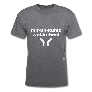 Miracles Welcomed T-Shirt - mineral charcoal gray
