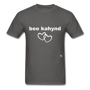 Be Kind T-Shirt - charcoal