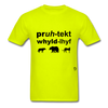 Protect Wildlife T-Shirt - safety green