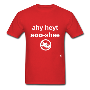 I Hate Sushi T-Shirt - red