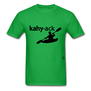 Kayak T-Shirt - bright green
