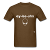 Alien T-Shirt - brown
