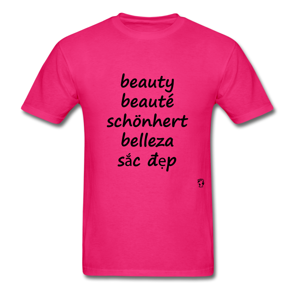 Beauty in Five Languages - fuchsia