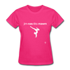 Gymnastic's Mom T-Shirt - fuchsia