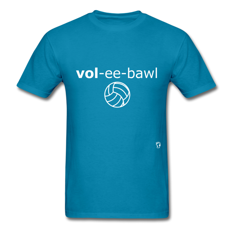 Volleyball T-Shirt - turquoise