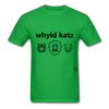 Wild Cats T-Shirt - bright green