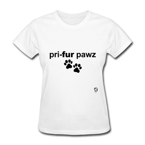 Prefer Paws T-Shirt - white