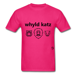 Wild Cats T-Shirt - fuchsia