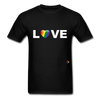 Love T-Shirt - black