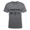 Wild Cats T-Shirt - mineral charcoal gray