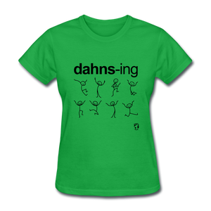 Dancing T-Shirt - bright green