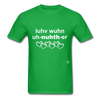 Love One Another T-Shirt - bright green