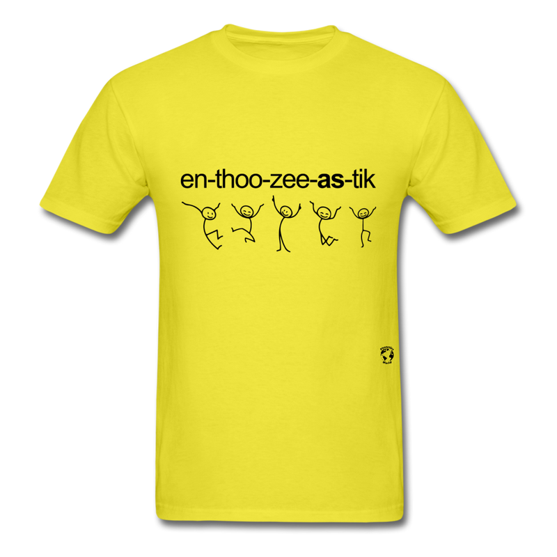 Enthusiastic T-Shirt - yellow