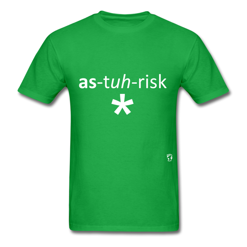 Asterisk T-Shirt - bright green