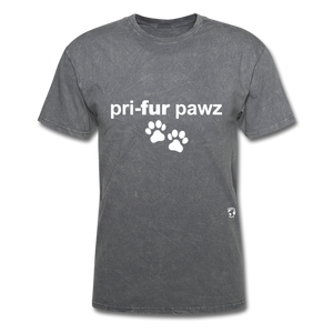 Prefer Paws T-Shirt - mineral charcoal gray