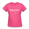 Freedom T-Shirt - heather pink