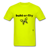 Butterfly T-shirt - safety green