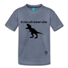 Tyrannosaurus Rex Kids' Premium T-Shirt - heather blue