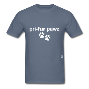 Prefer Paws T-Shirt - denim