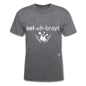 Celebrate T-Shirt - mineral charcoal gray