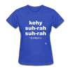 Que Sera Sera T-Shirt - royal blue